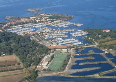 Le port des Embiez
