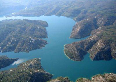 Le lac d'Esparron