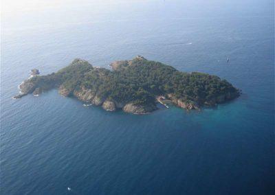 La Ciota et l'île verte
